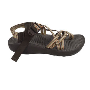 Chaco ZX/2 Unaweep Sandals Double Strap Toe Loop Multi Brown 9M